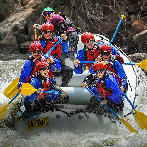 Timberline Tours Whitewater Rafting Lower Eagle River in Vail, Colorado - by Doug Mayhew | WhiteWater-Pix