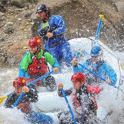 Timberline Tours offers guided Whitewater Rafting trips down The Numbers on the Arkansas River in Colorado - photography by Doug Mayhew | WhiteWater-Pix.com