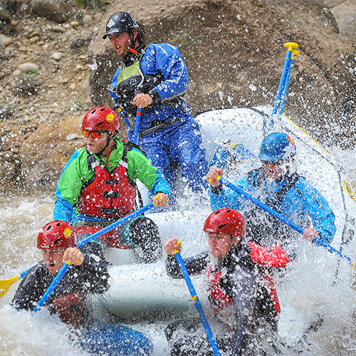 Whitewater Rafting near Granite Colorado on the Arkansas River
