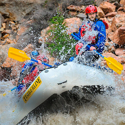 Timberline Tours Whitewater Rafting Pine Creek & The Numbers on the Arkansas River near Vail Colorado - photography by Doug Mayhew | WhiteWater-Pix.com
