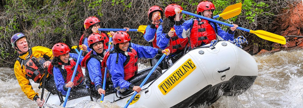 Timberline Tours offers guided Whitewater Rafting trips on the Lower Eagle River near Vail Colorado - photography by Doug Mayhew | WhiteWater-Pix.com