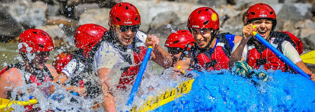 Timberline Tours offer Whitewater Rafting on the Shoshone section of the Colorado River near Vail Colorado - photography by Doug Mayhew | WhiteWater-Pix.com