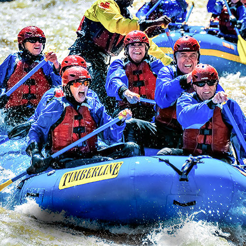 Timberline Tours Whitewater Rafting Clear Creek in Idaho Springs, Colorado - by Doug Mayhew | WhiteWater Pix