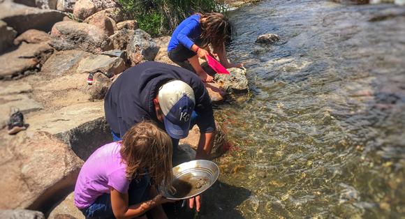 Gold Panning Fulford Colorado
