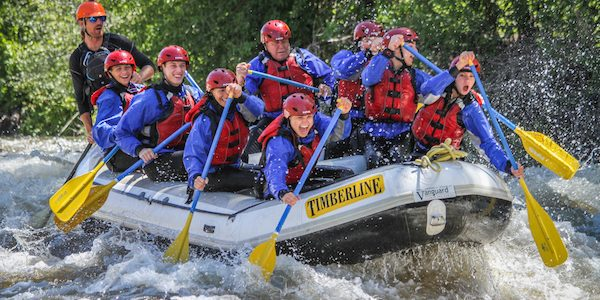 Whitewater Rafting Colorado on the Eagle River