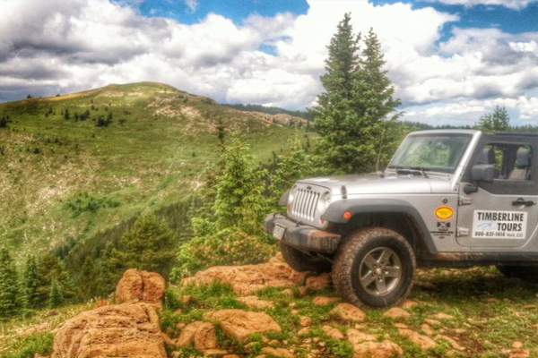 timberline jeep tours camp hale