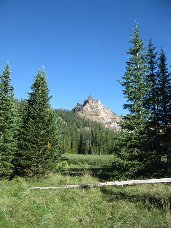 castle peak wilderness in Colorado