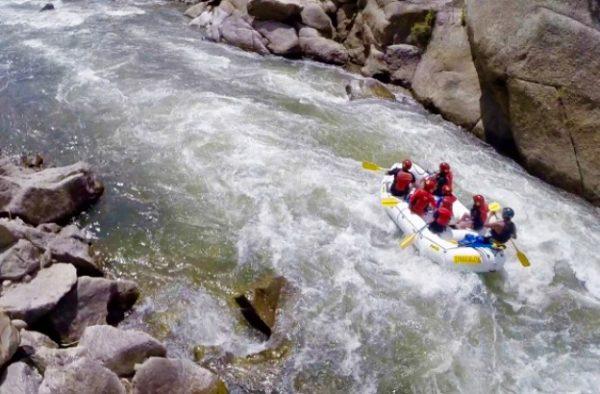Vail Rafting