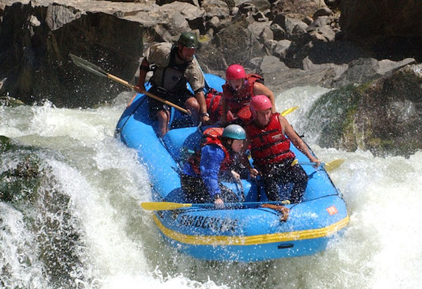 Timberline Tours Gore Canyon Rafting