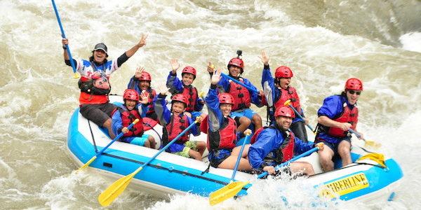 Rafting Shoshone