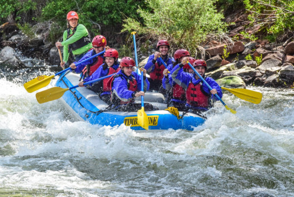 Colorado Rafting Season